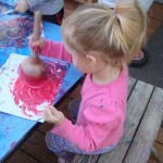 Painting with plungers